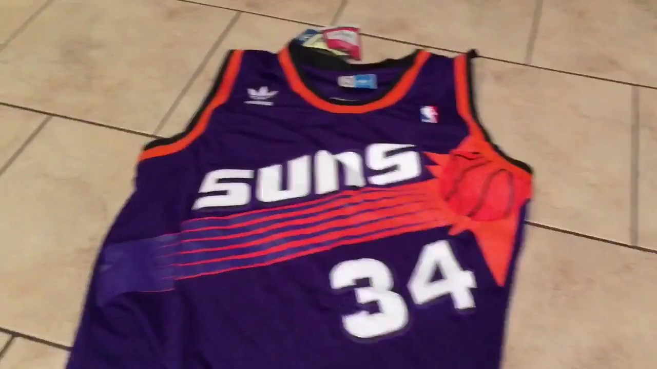 Charles Barkley Suns Jersey Review dhgate aliexpress - YouTube 3cab5caea