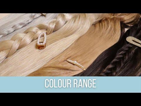 ZALA Hair Extensions Full Colour Range | 2017