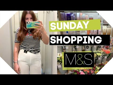 Sunday Shopping / Marks & Spencer