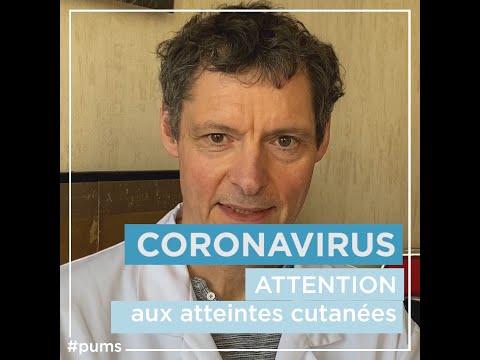 Coronavirus: quels sont les signes cutanés de l'infection ? Pr Descamps - #Pour une meilleure santé