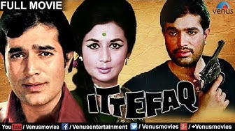 Ittefaq (English Subtitle)   Bollywood Classic Movies   Rajesh Khanna Movies   Full Hindi Movies