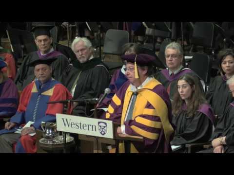 Western University Spring Convocation, June 15, 2017 - Howard Alper