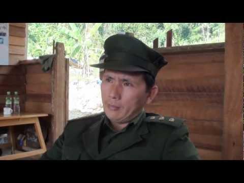 Jesus With KIA Seng Ja Bum pha kant zau doi interview kachin (KIA Battalion Commanderzau) HD Quality