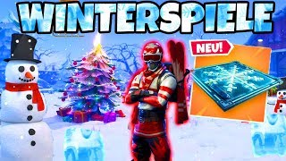 SKI SPRUNG WINTERSPIELE in Fortnite!