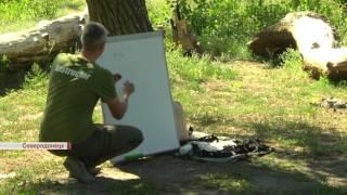 Патрульные Луганщины проходят обучение тактической медицине