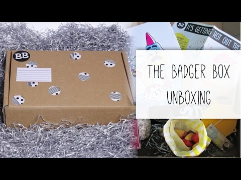 The Badger Box - Quirky / Illustrated Gifts & Stationery
