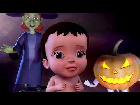 Halloween Songs for Kids | Trick or Treat Baby Songs | Infobells Hindi Rhymes