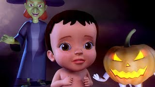Halloween Songs for Kids | Trick or Treat Baby Songs | Infobells Hindi Rhymes