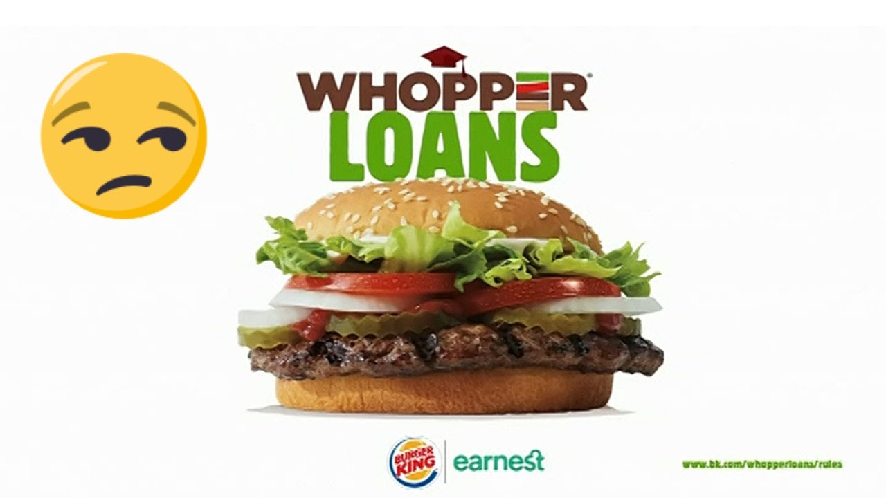 Burger King offers to repay student loans, using ebonics to do so