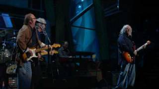 25th ANNIVERSARY ROCK AND ROLL HALL OF FAME CONCERT Crosby, Stills ...