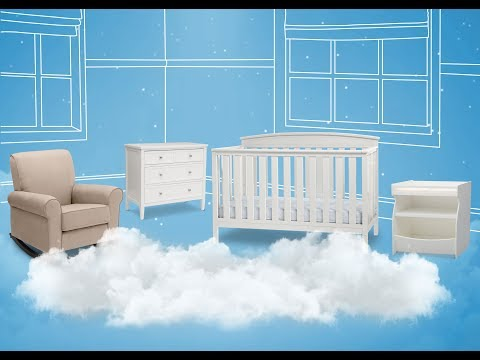 Gateway 4-in-1 Crib (by Delta Children)