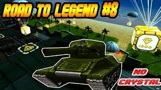 Tanki Online Road To Legend (sem comprar cristal #8) Ganhei 20 Gold Boxes