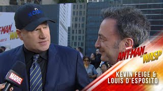Kevin Feige and Louis D'Esposito at the Ant-Man and The Wasp Premiere