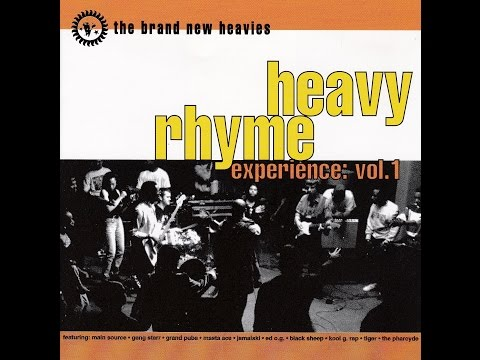 THE BRAND NEW HEAVIES  -  Heavy Rhyme Experience: Vol. 1  ( Full Album )
