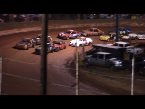 Winder Barrow Speedway Stock 4 Cylinders B's Feature Race 9/28/19
