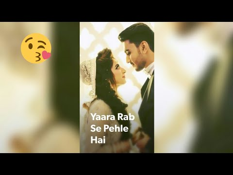Full Screen Whatsapp Status // Jaane Dil Mein Kab Se Hai Tu // FS Status Creation