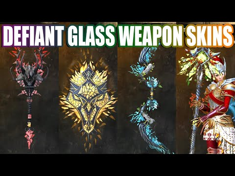 Defiant Glass Weapon Skins ● Guild Wars 2 thumbnail