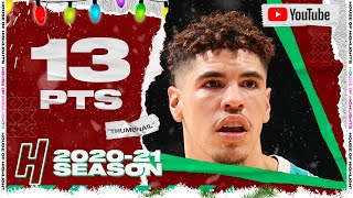 LaMelo Ball 13 Points Full Highlights vs Thunder | December 26, 2020-21 NBA Season