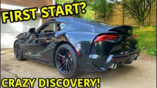 Rebuilding A Wrecked 2020 Toyota Supra Part 2