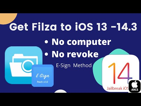 Filza iOS 14 - How to Install Filza on ios 14! -PlankFilza -(filza file manager on iphone & ipad)