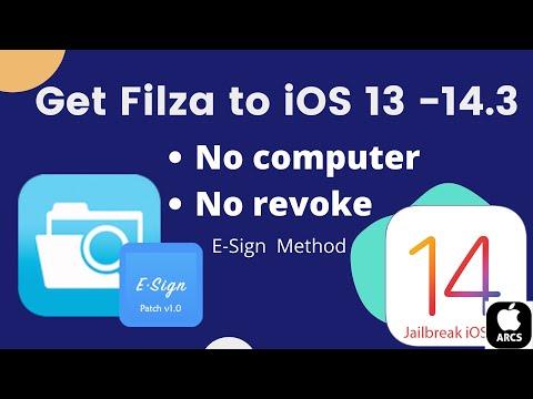 Filza iOS 14 - How to Install Filza on ios 14! -PlankFilza -(filza file manager on iphone & ipad)