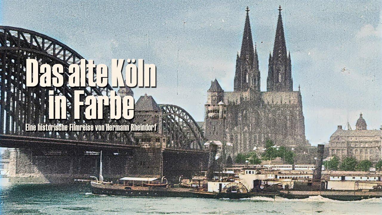 Das alte Köln in Farbe - Cologne 1896-1936 colorized - DVD/VoD