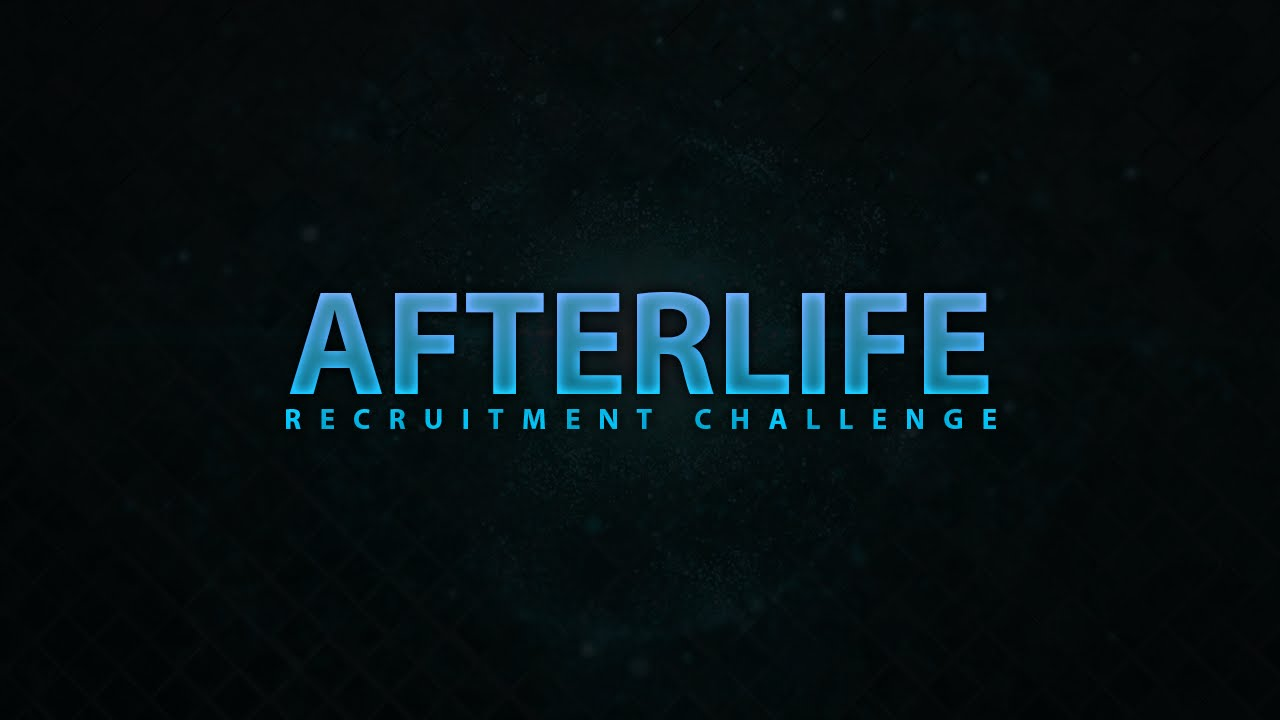 Afterlife: Recruitment Challenge