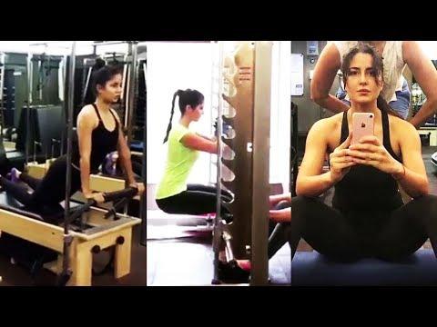 Katrina Kaif's Workout for TIGER ZINDA...