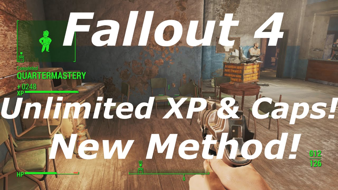 Infinite caps glitch after the patch - Fallout 4 Message
