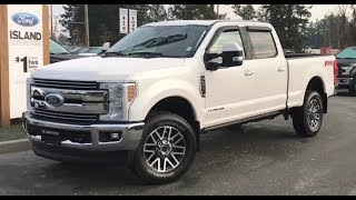 2019 Ford f-350 lariat 6.7L Diesel SuperCrew Review| Island Ford