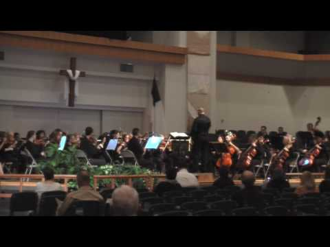Olathe KS Community Orchestra Playing selections from