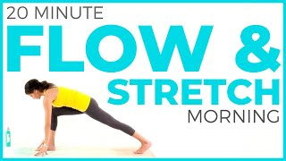 20 minute Vinyasa Morning Yoga Stretch | FLOW & STRETCH
