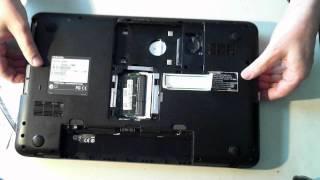 Toshiba Satellite C850D Disassembly
