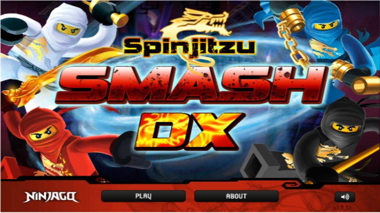 Cartoon Network Games: Lego Ninjago - Spinjitzu Smash DX ...