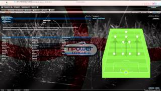 Football manager 2011 tactic