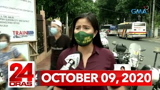 24 Oras Express: October 9, 2020 [HD]