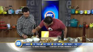 #btmtl: Cooking With Jerusalem Artichokes