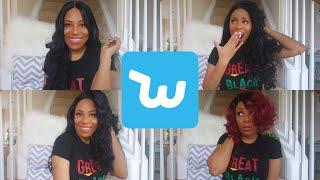 I BOUGHT WIGS FROM WISH!!!| IS IT A SCAM| LIA LAVON