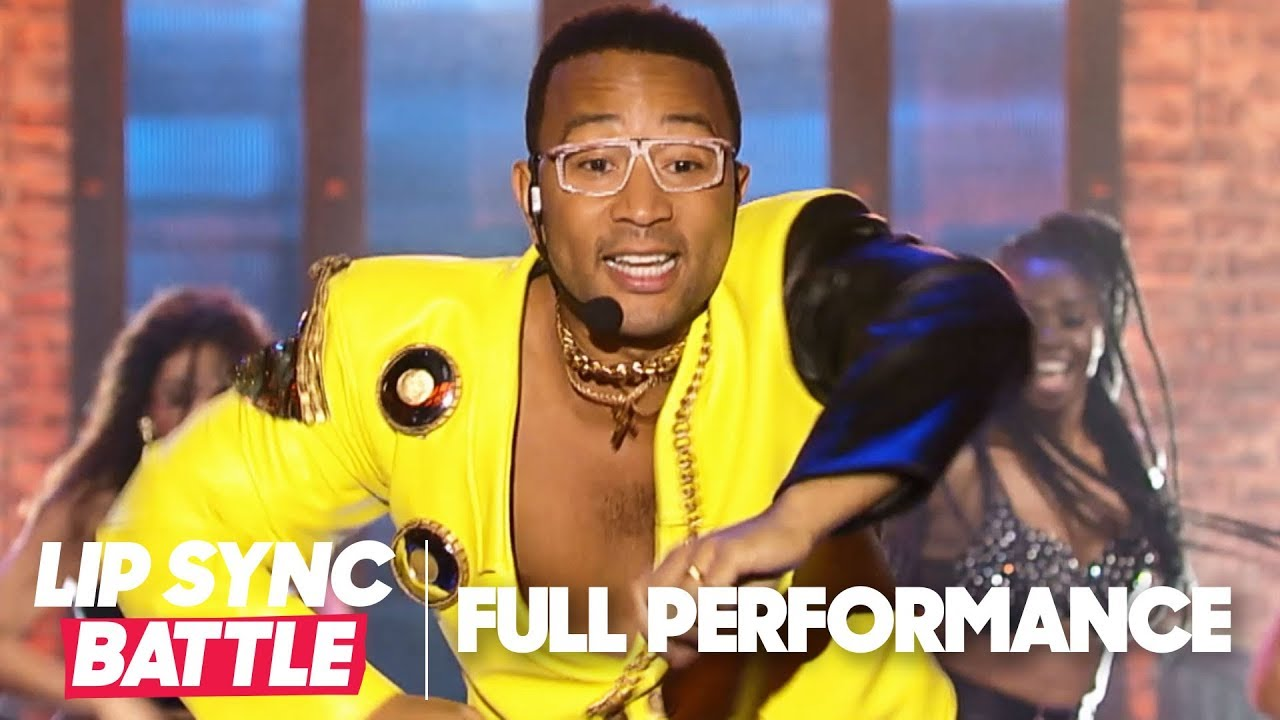 "John Legend Performs ""U Can't Touch This"" & ""Slow Motion"" 