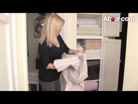 How to Organize a Linen Closet by Dina Newman