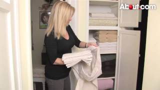 How To Organize A Linen Closet By Dina Newman