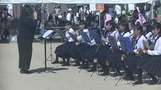 第9回ふじた桃太郎どんぶらこまつり【吹奏楽部】藤田中学校②