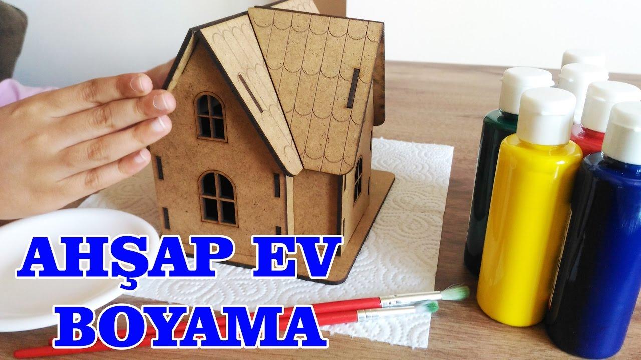 Ahşap Ev Boyama Youtube