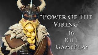 """""""Power Of The Viking"""" Brand New Magnus Skin - 16 kill Fortnite Batte Royale Gameplay"""