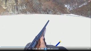 ружье МЦ 20- 01 Отстрел пулями и картечью
