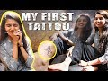 Getting My First Tattoo!!| Before & After Tips For Tattoo