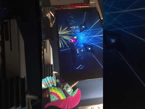 BEAT SABER Ep 2 WE DID THIBGS GUD!