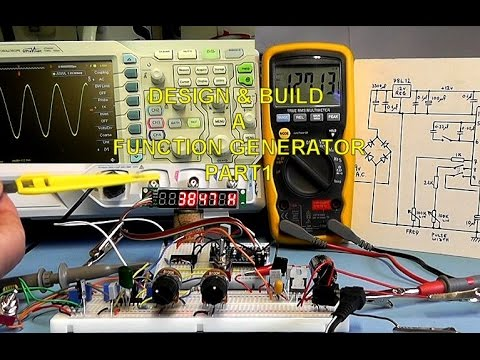 Scullcom Hobby Electronics #25 - Build a Function Generator Part 1