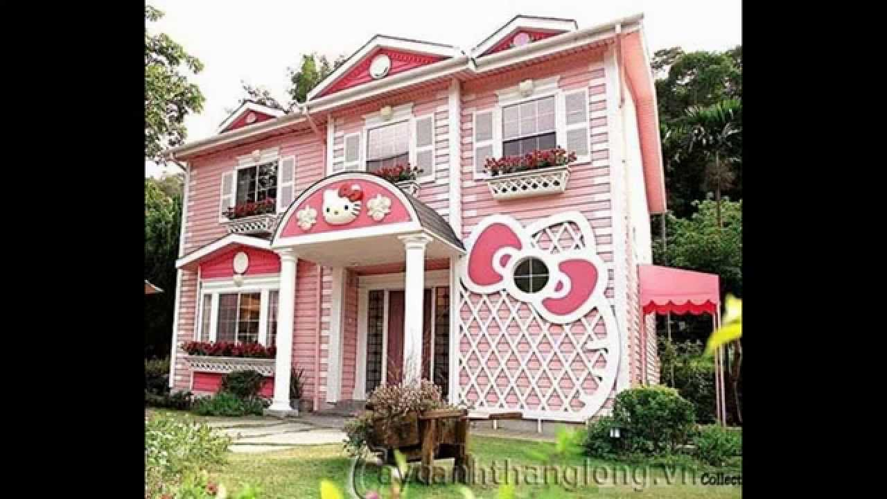hello kitty house youtube. Black Bedroom Furniture Sets. Home Design Ideas