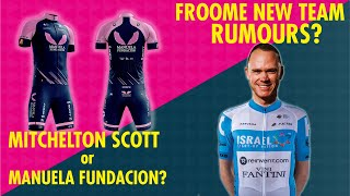 FROOME HEADING TO ISRAEL START UP?